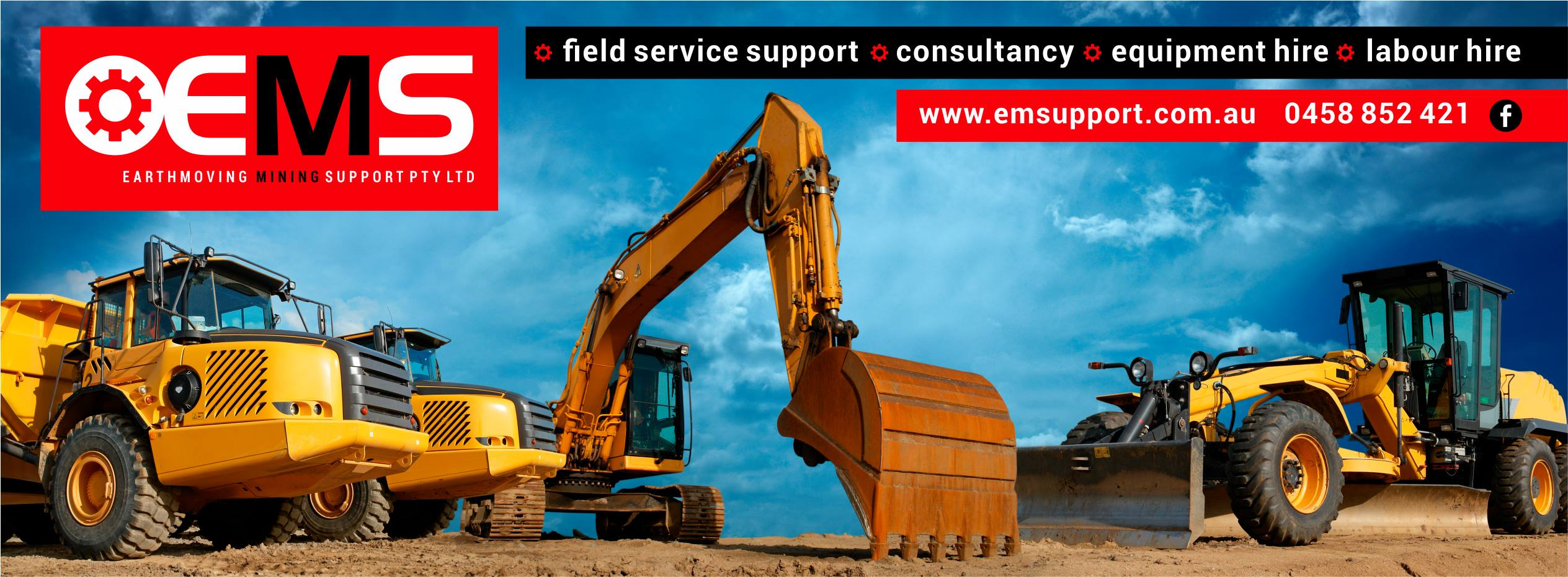Earthmoving Mining Support, Earthmoving, mining, construction, road transport equipment, field service support, consultancy, equipment hire, labour hire, heavy equipment repair business mines, hydraulic torque wrenches, rad guns, jacking, pushing equipment, electronic diagnostic equipment, custom jobs, repairs, rebuilds, Queensland