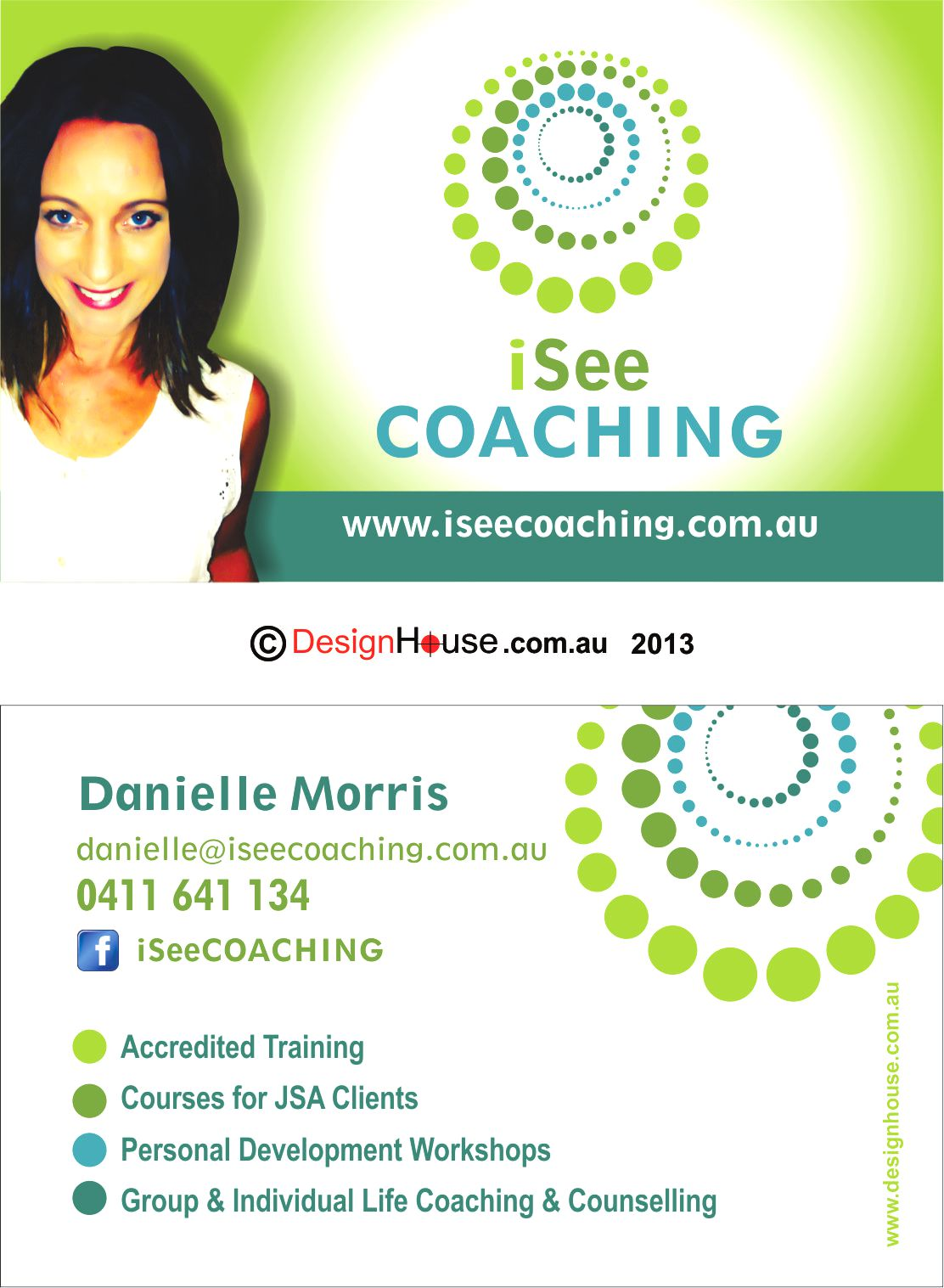 I_See_Coaching_business_cards - Design HouseDesign House
