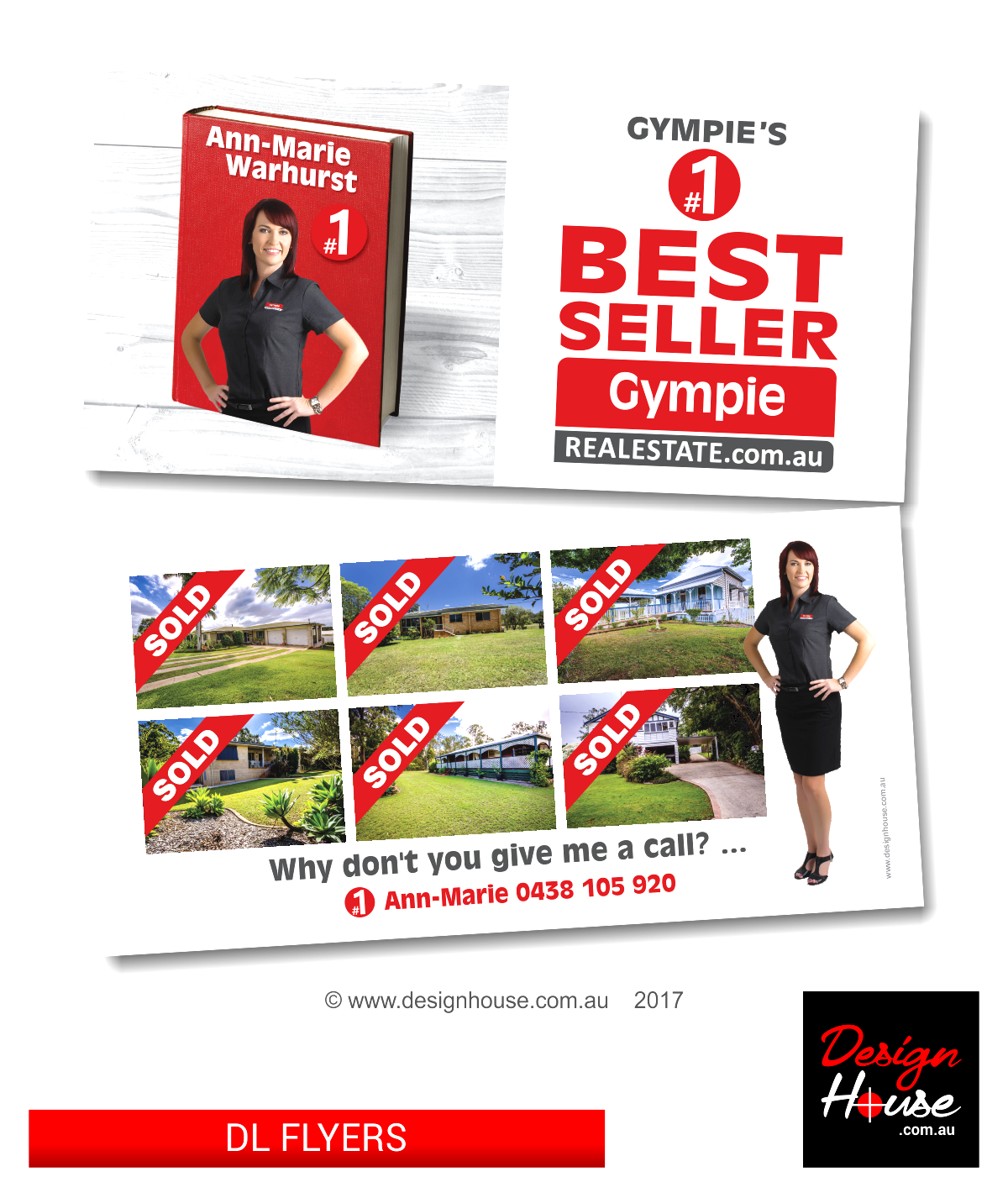 DL Flyer Design Gympie Real Estate