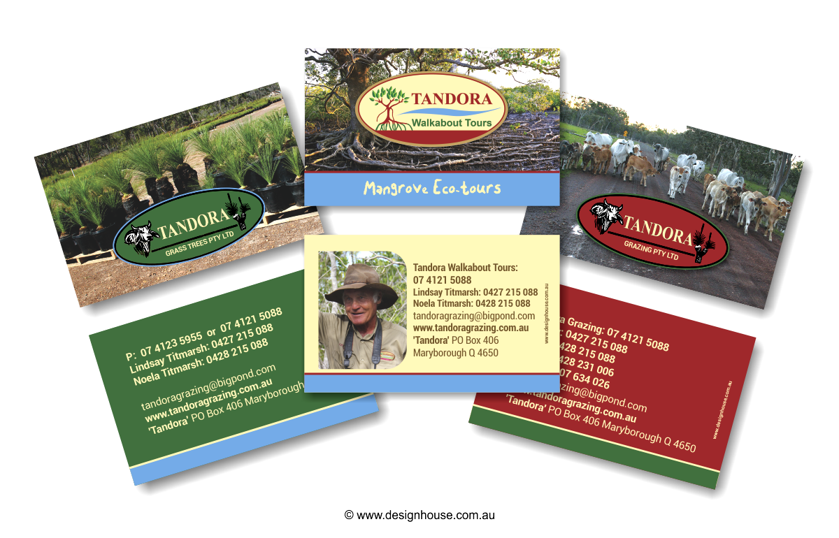 Business Cards - Design House Portfolio, Hervey Bay, Fraser ...