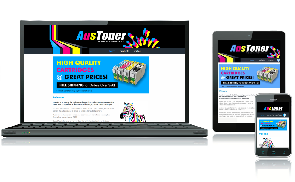 Austoner website goes live, website design, hosting, graphic design, print,