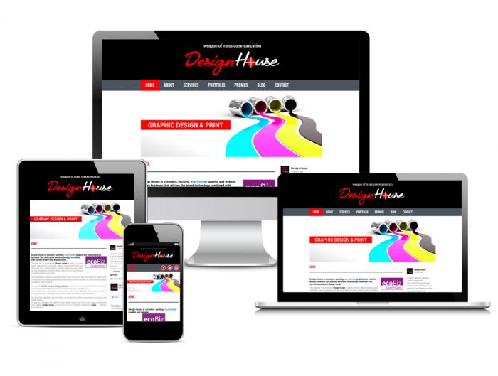 design house website design graphic website