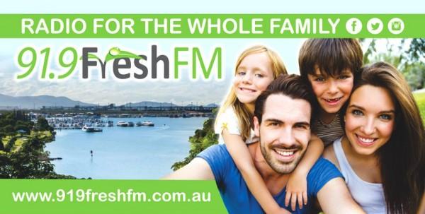 91.9 Fresh FM - Billboard Creative