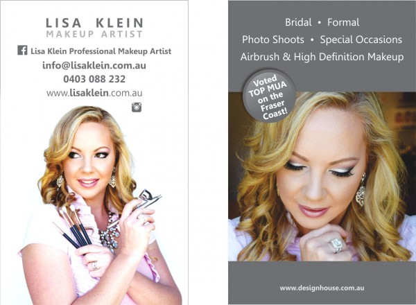 Lisa Business Cards Professional Portrait Photoshoot with the Glamorous Lisa Klein Mua