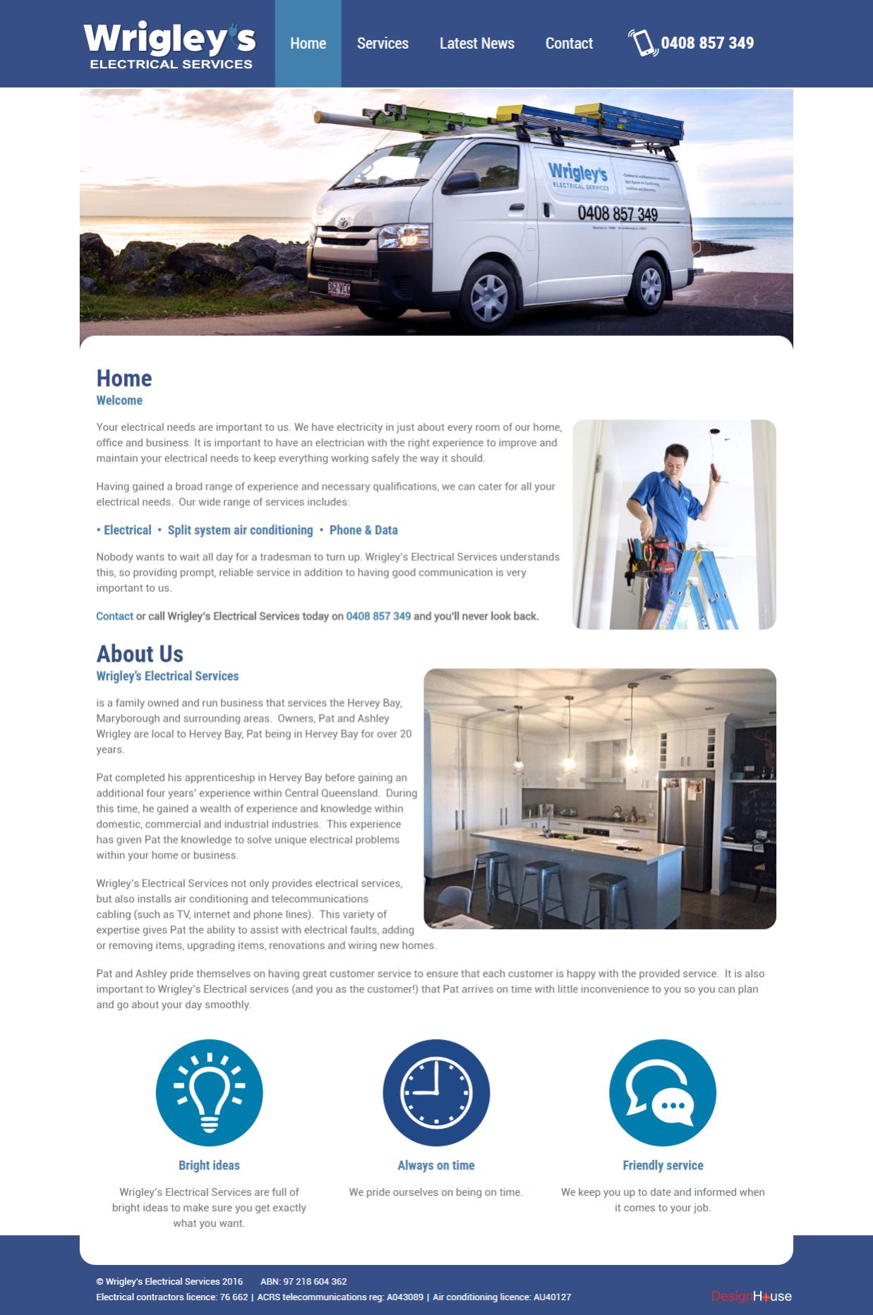 wrigleys-electrical-website