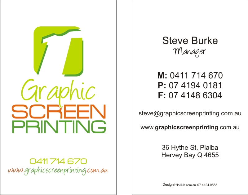 Business cards design house portfolio hervey bay fraser design house portfolio business cards please click on images to view full size colourmoves