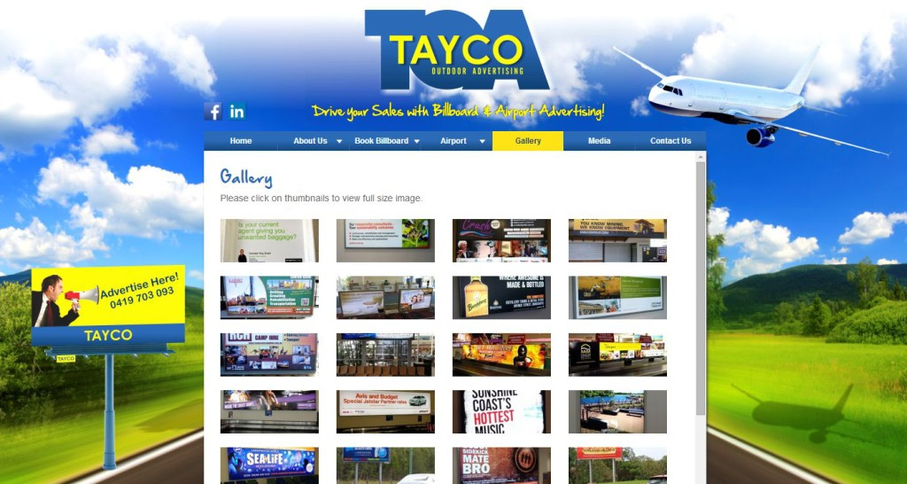 TAYCO OUTDOOR ADVERTISING REBRAND!