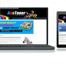 Austoner goes live, website design, hosting, graphic design